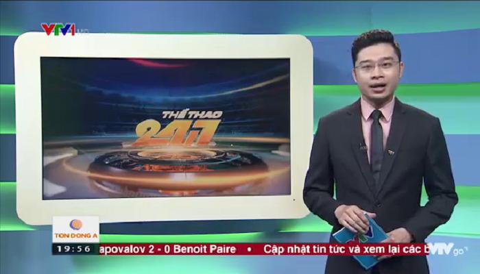 Bản tin thể thao 24/7 (VTV) đưa tin: Ứng dụng xem